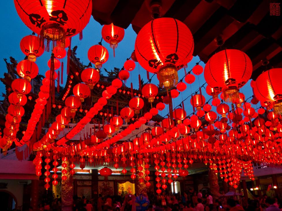 китайские фонарики (буддистские)