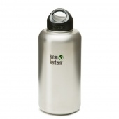 Бутылка Klean Kanteen WIDE 1900 мл (64oz) - Brushed Stainless